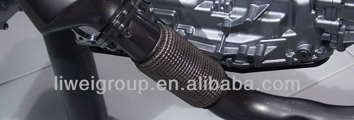 Auto Flexible Engine Exhaust Bellows with Inner Braid and Nipple