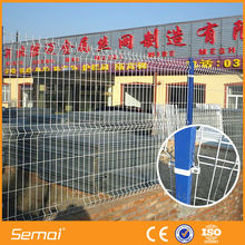 Hot dipped galvanized triangle iron fence