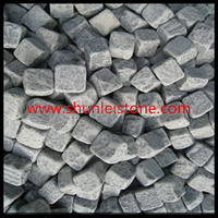 tumbled natural stone garden cobble