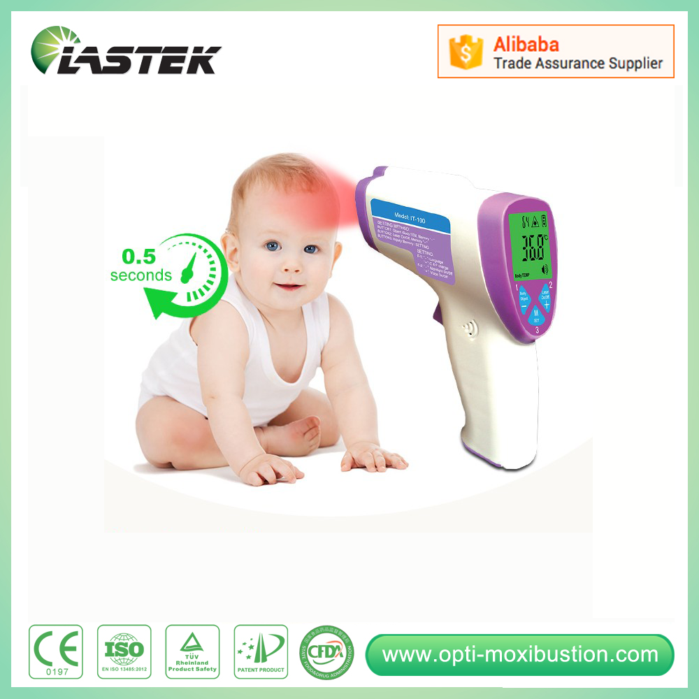 forehead temperature gun clinical thermometer body temperature scanner