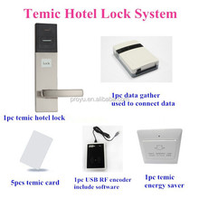 Key Card Intelligent Smart Digital Hotel Door Lock IC EM ID card door locks