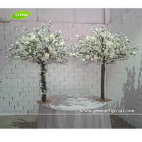 GNW artificial cherry tree ornamental bonsai tree wedding table tree centerpieces