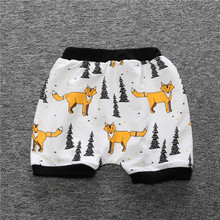 Wholesale Super Soft Baby Breathable Cotton shorts baby pants different print baby diaper cover bloomers