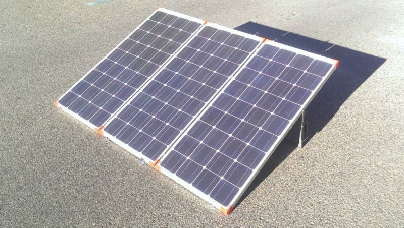 Most Popular Portable Compact wooden solar panel kit