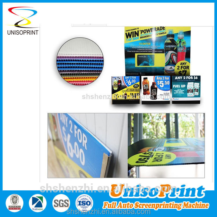 outdoor advertising corrugated plastic sign corri ribbed board