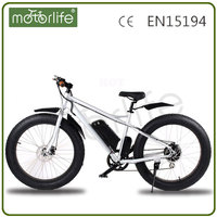MOTORLIFE/OEM strong power fat tire electric motor bike Guangzhou, 36V/48V cheap electric motor bike for sale