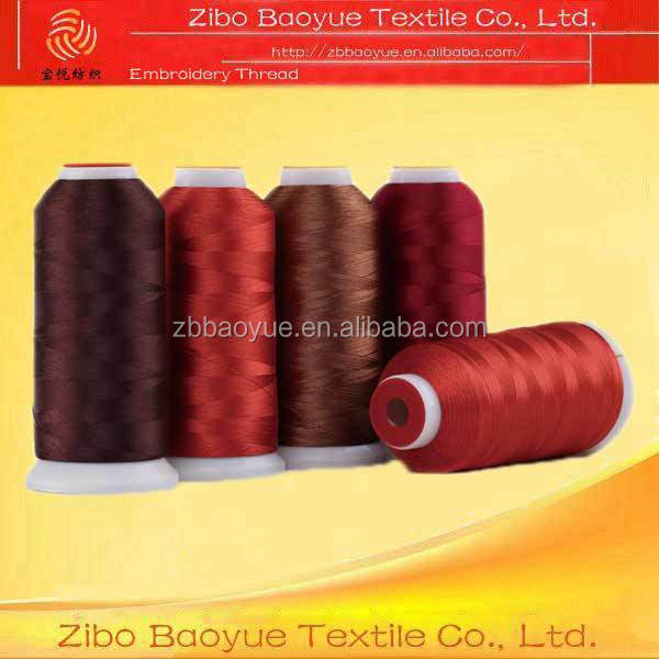 120D/2 polyester embroidery thread for machine