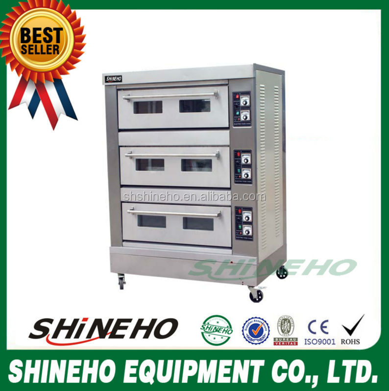 B014 gas oven without burners/french bakery names/equipment for bakery