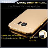 flip case cover for samsung galaxy note3 neo / mirror bumper case for iphone