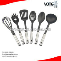 Food grade Good Silicone Kitchen Utensil wholesale nylon kitchenware utensils