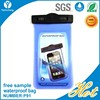 Newest mobile phone pvc waterproof bag for iphone and mobile phone pvc waterproof bag for samsung