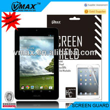 7'' tablet screen protector for Asus Fone Pad 7 oem/odm