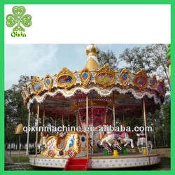 2014 Hot sale playgroud rides Carousel horse for sale