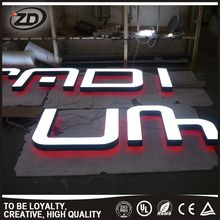 At Low Price Volume Supply aluminum led signs outdoor small acrylic letters