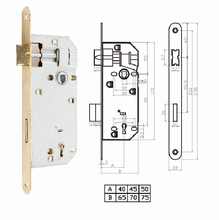 Anti-theft High Quality Timber door Mortise Lock