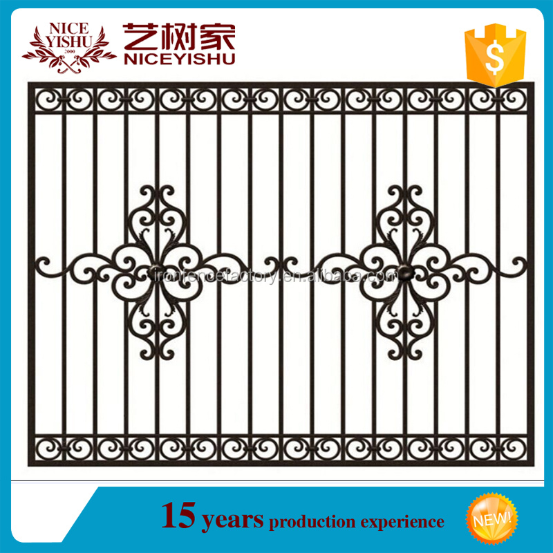 japanese window grills,simple iron window grill,iron window grill color