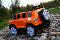 Electric four-wheel off-road vehicle kids ride on car with bluetooth remote control