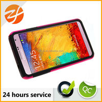 Mobile phone accessories for Samsung galaxy note 3 pc hard cover case,Stand function cover case for samsung galaxy note 3