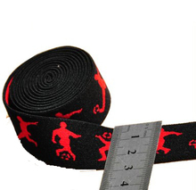 Factory direct sale Custom polyester Jacquard elastic webbing strap