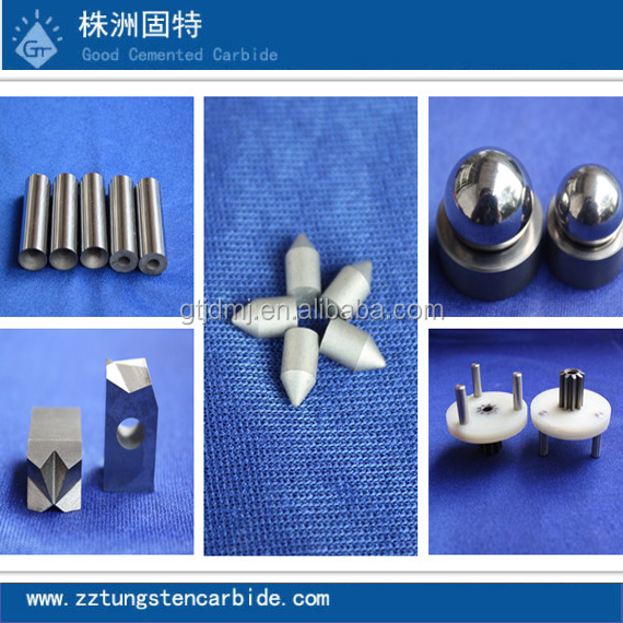 2015 hot sale YG6YG8YG11YG15YS2tYL10.2YNi8 tungsten carbide wire punch/drawing dies for tool parts