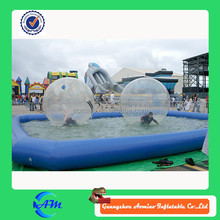 Hot sell popular Durable inflatable water ball for kids and adult