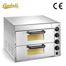 2 Decks 2 Trays outdoor pizza oven, high quality pizza hut pizza oven, thermostat for pizza oven