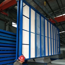 Low Cost Foldable A-Level Fireproof Mobile Prefab Container House for Hot Sale