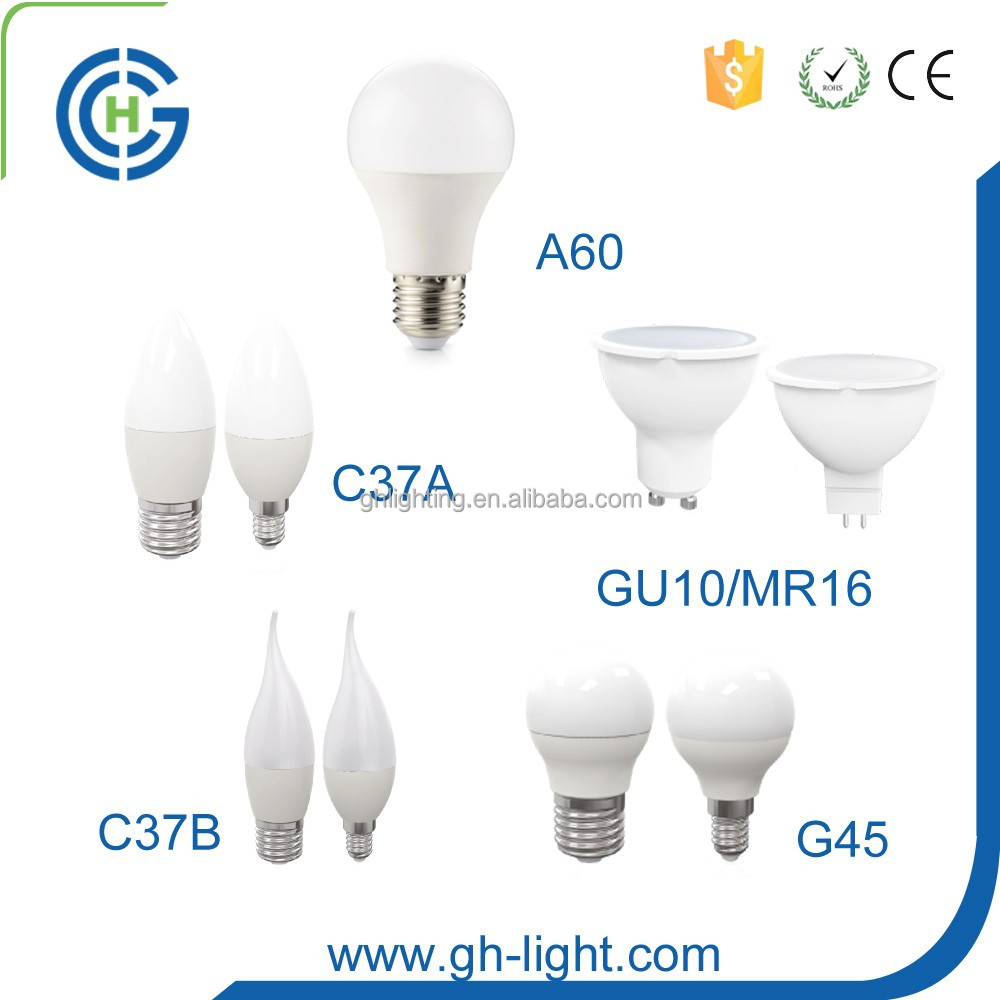China professional manufacturer CE RoHS 3w 5w 7w 9w 10w 12w 15w E27 led bulb