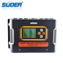 Suoer China Manufacture 12V 24V 48V 30A MPPT Portable Solar Charge Controller