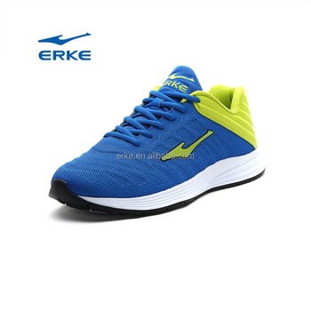 2017 fashion ERKE brand factory wholesale mens sports running shoes
