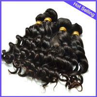 Factory price best quality luxurious virgin remy hair unprocessed peruvian loose wave hair