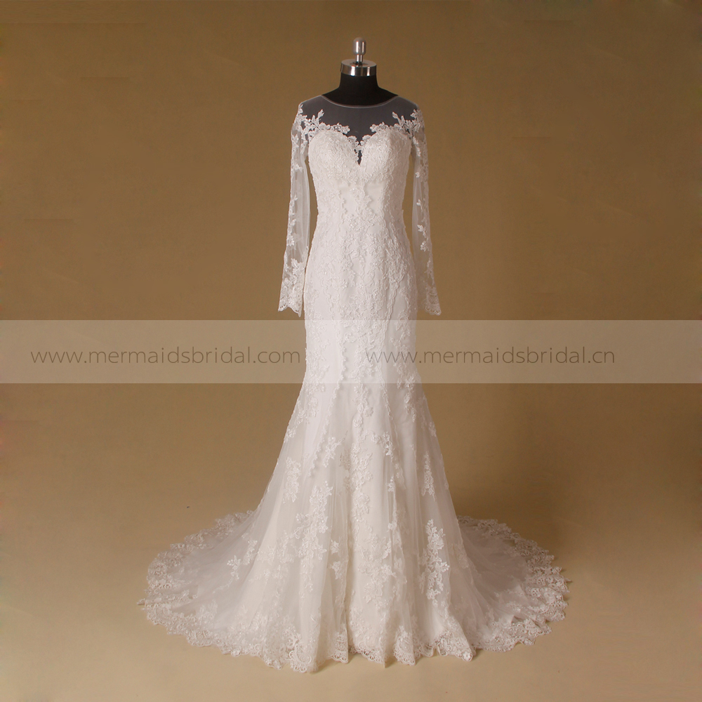 Wedding dress philippines sleeve bridal dress