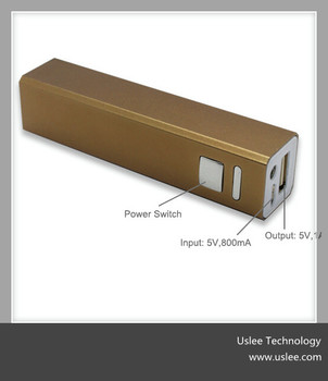 2015 products mobile charger portable power bank 2600mah for ipnone