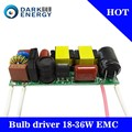 wholsale led driver 18-36w EMC pass high pf 0.9 led driver 36w