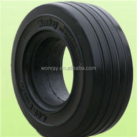 cheap tractor trailer tyres china supplier solid rubber tyres 4.00-8 for semi trailer tires