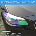 3 Layers Color Change Chameleon Car Headlight Tint Vinyl Film