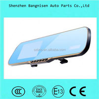 5 inch Android 4.1 system WIFI wireless DVR GPS Bluetooth rearview mirror with tachograph