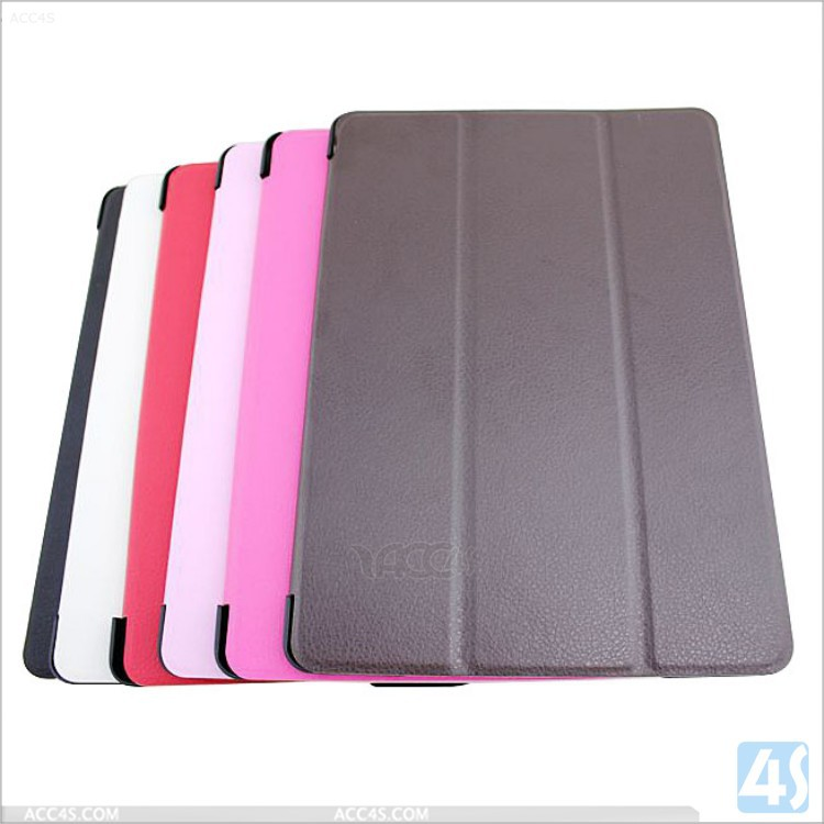 New arrival Rotation flip stand leather case for ipad 6
