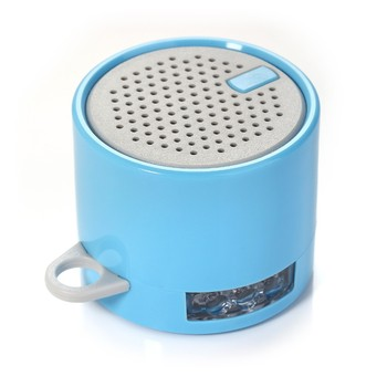 Cheap LED torch portable mini bluetooth speaker with phone stand Shen Zhen China factory