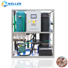 Koller 1 ton/day TV10 small tube ice plant price Portugal