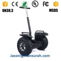 2014 new model electric chariot balance scooter with two big wheel for cross country