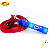 2014 Hot Sell Led Toy Plastic Whistle Glow in the Dark