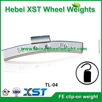 high quality steel clip-on wheel weights