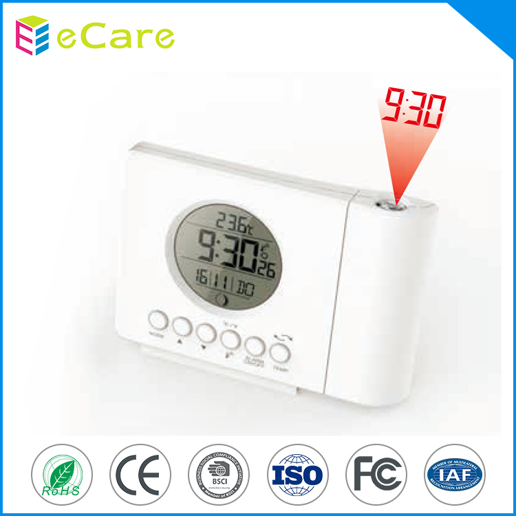 Digital customized rcc clock radio controlled clock with alarm clock and snooze