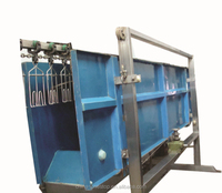 Waterbath type Electric Chicken Stunning Machine (stunner) for poultry slaughter line