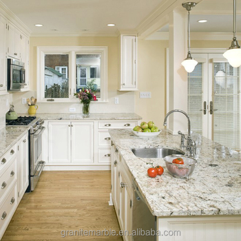 Traditional white granite kitchen countertop and table with low price