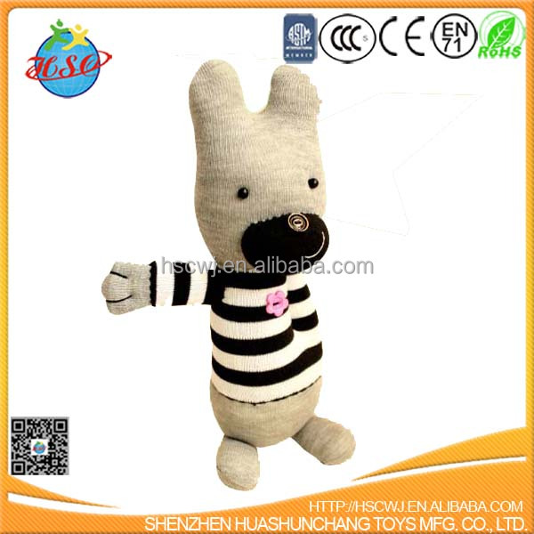 cotton stuffed bunny toy