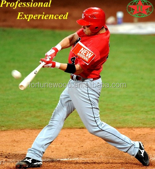 Chinese wooden Baseball bat vendor bat customizable