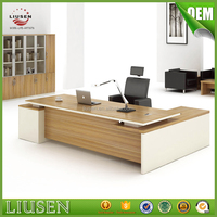 2016 low price office furniture desk modern wood office ceo executive desk