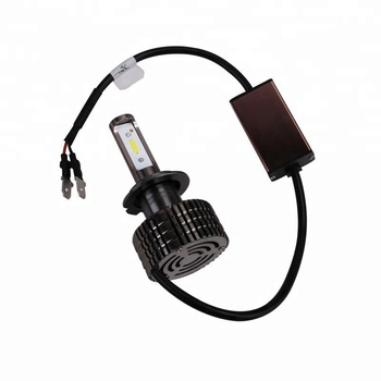 Brightest FAN cooling led h7 headlight for cars